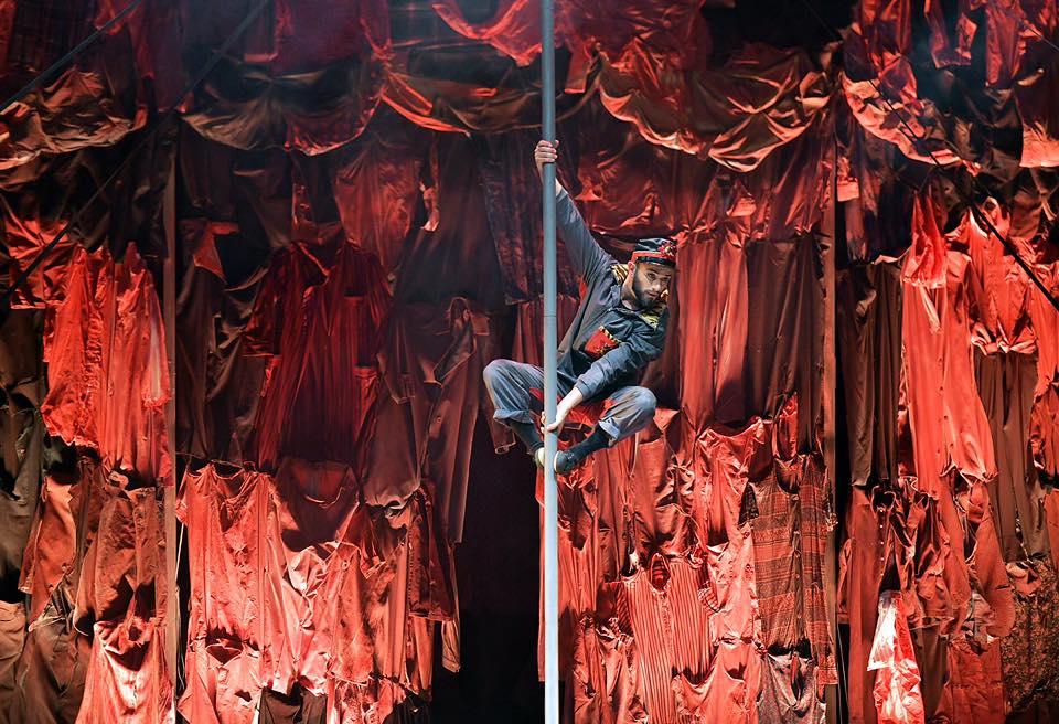 Gran Circo Rossini, El Grito